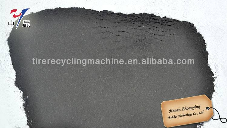 Rubber Fine Crusher in Tire Rubber Recycling Production Line