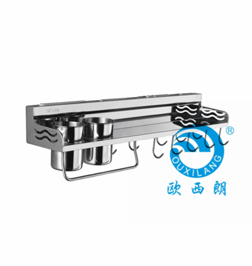 Stainless steel 304# knife shelf for kitchen