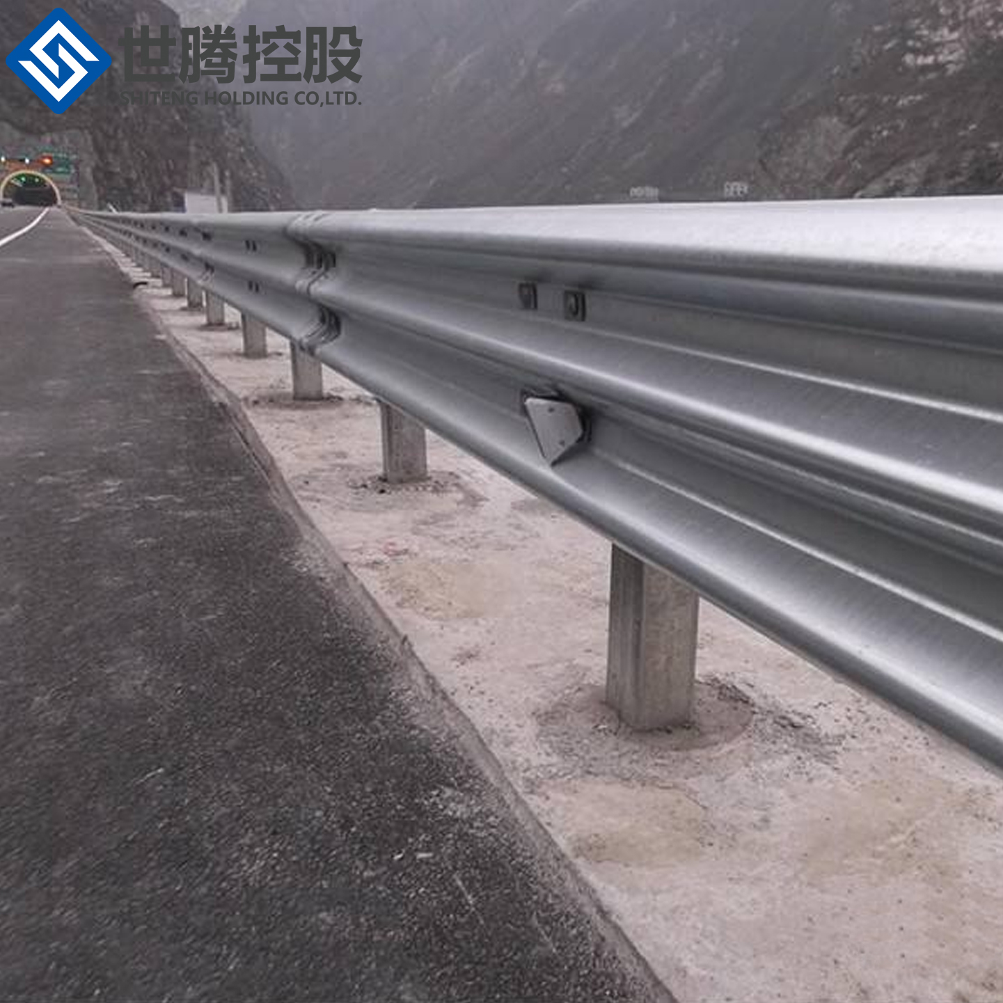 Highway guardrail hot dipped galvanized traffic barrier