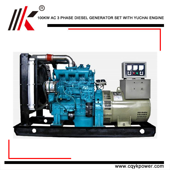 100KW DIESEL GENERATOR OF DIESEL GENERATOR POWER PLANT MAKE ENERGE FOR VAN DE GRAAFF GENERATOR