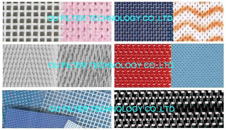 Conveyor mesh belt for all Spunlace non-woven