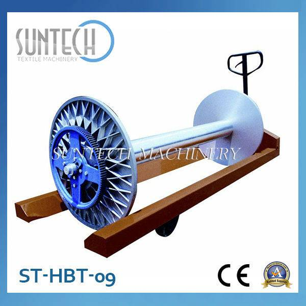 ST-HBT-09 Hydraulic Warp Beam Transportation Trolley For Sale