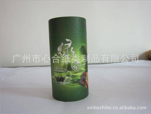 Hot sale paper tea tube with rolled edges wholesale paper tea box