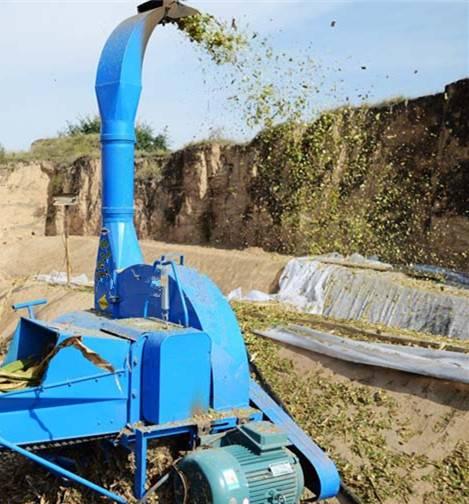 straw crushing machine