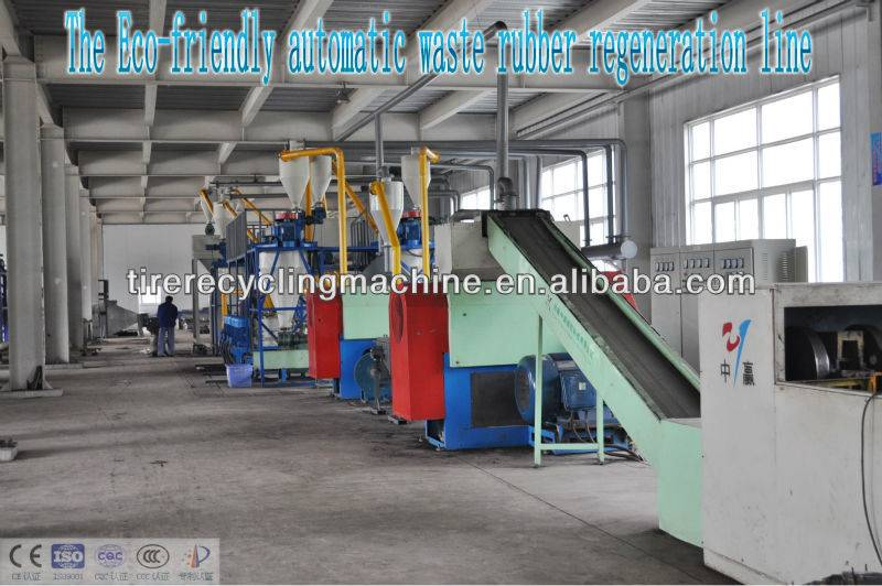 Recycled Tire Rubber Production Line