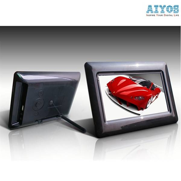 Advertising/Gift HD Video Music Photo Playback Calendar Remote Control 7 inch Digital Photo Frame