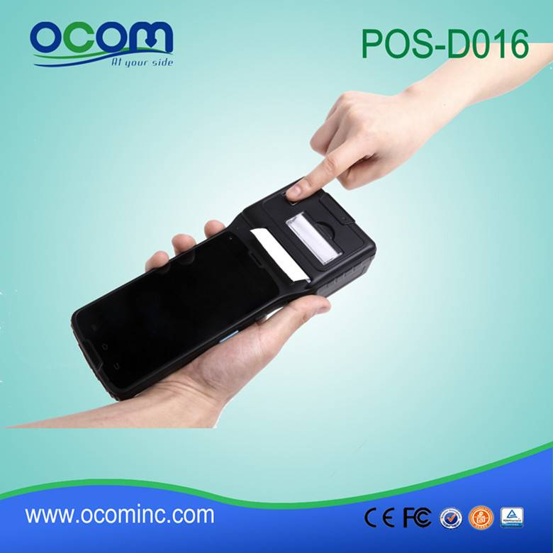 2016 New product android POS PDA with rfid reader