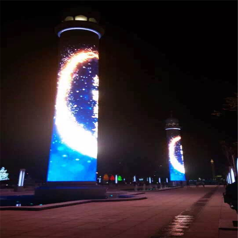 China gold manufacturer latest p10mm smd led outdoor display