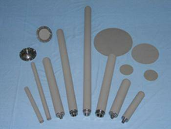 High Temperature alloy Metal Powder Sintered Filter pipe