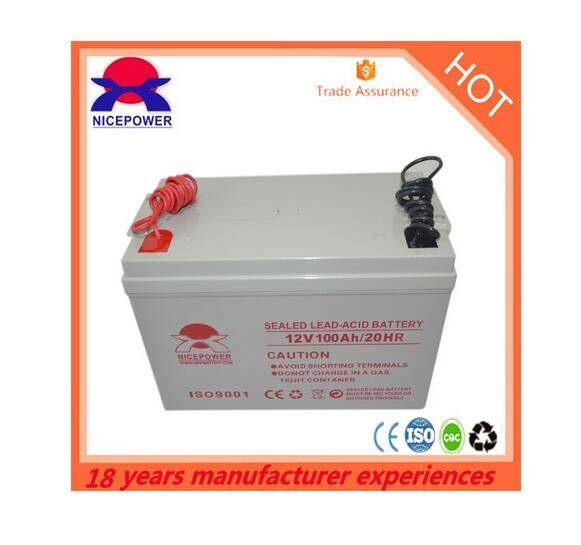 High quality Solar storage 12v 120ah AGM battery pack for solar system