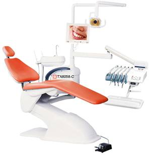 Computer Controlled Integral Dental Chair Unit(tx6058-c)