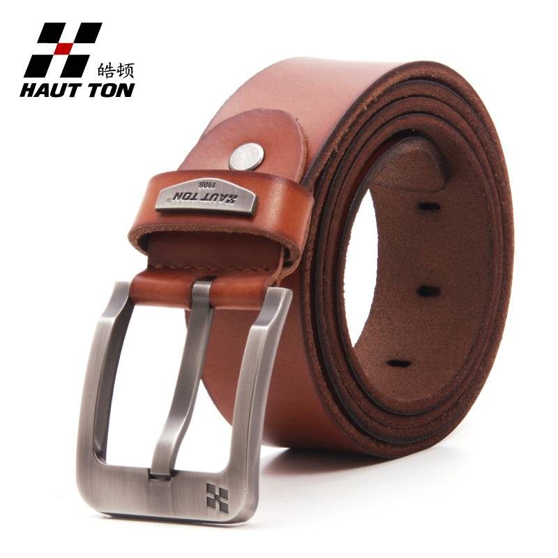 zk016 men leather belt