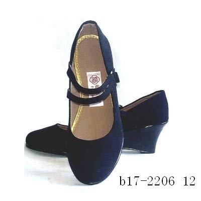 Women Canvas Shoes for Work and Dance (B17-2206)