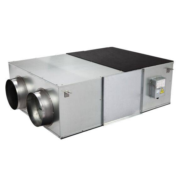 All metal LCD control heat recovery ventilator ventilation system