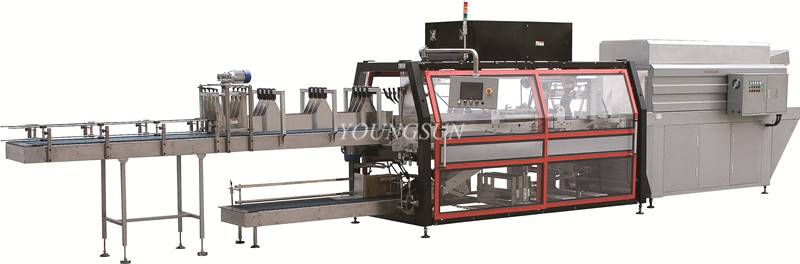 YS-ZB-6IIA Paper Pad Film Shrink Wrapping Machine for Bottles and Cans