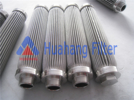 High precision filter stainless steel melt replacement hydraulic oil filter