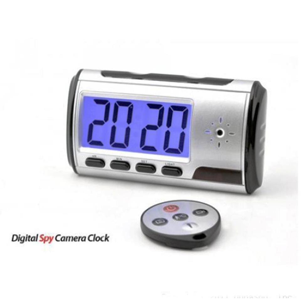 DTC-ASC001 Digital Clock Spy Camera