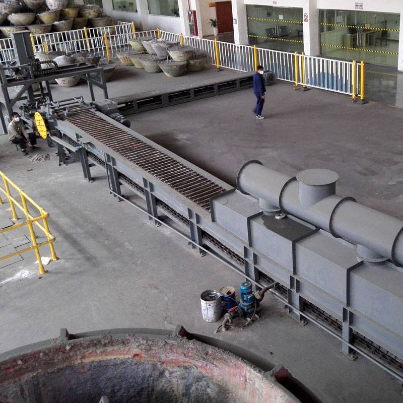 Lead ingot casting machine