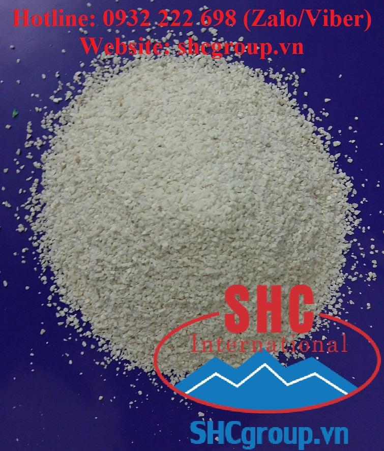 Granular limestone for feed