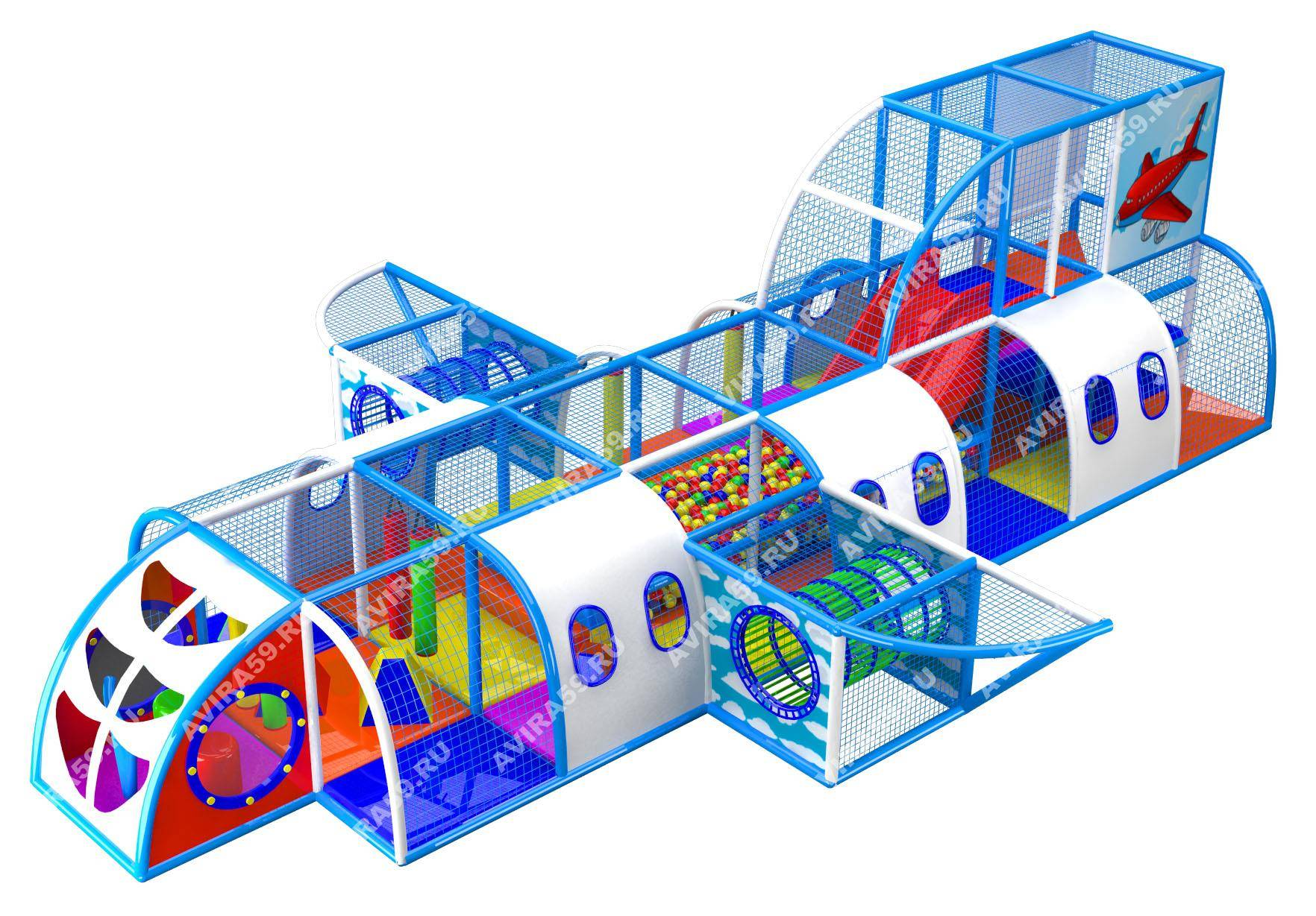 Indoor playground Liner