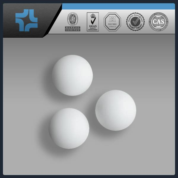 virgin plastic ptfe ball 100% virgin teflon ball