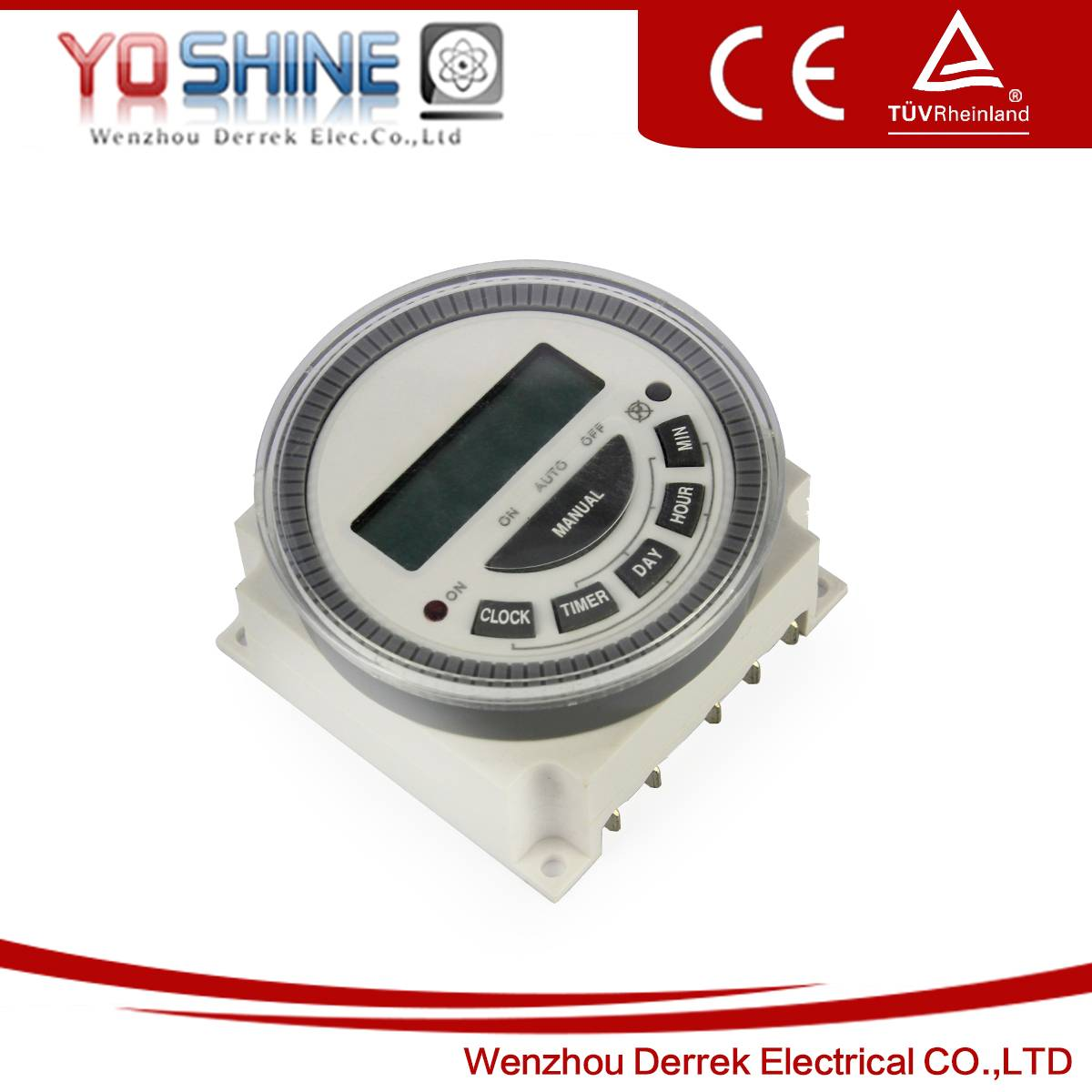 YX-805 DC24V  Weekly Digital Time Switches