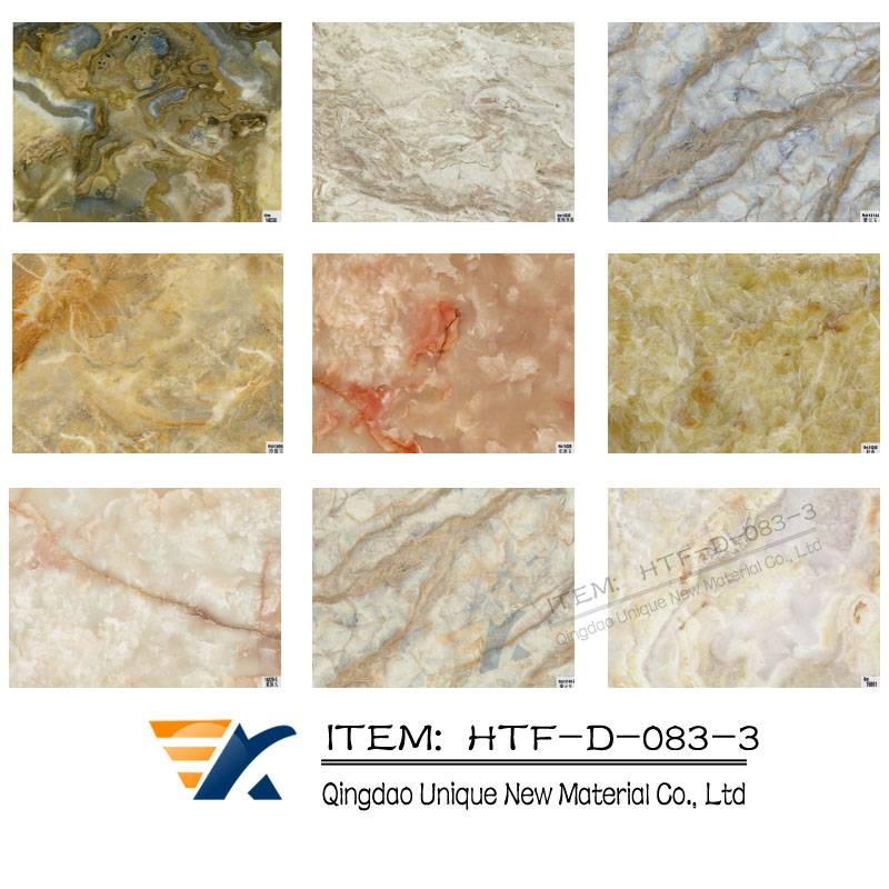 Marble transfer foil , Wood grain transfer foil ,WPC transfer foil