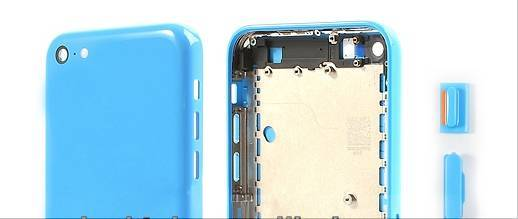 New Arrive Good Quality For iPhone 5C Full Housing With All Small Pieces Replacement Parts