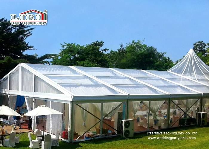 Clear Roof High Peak Tent for Party and Wedding