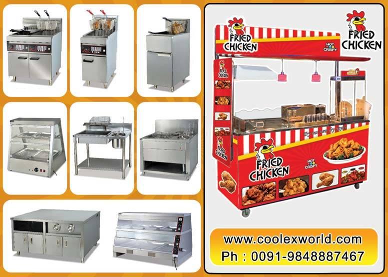 fried chicken equipment india