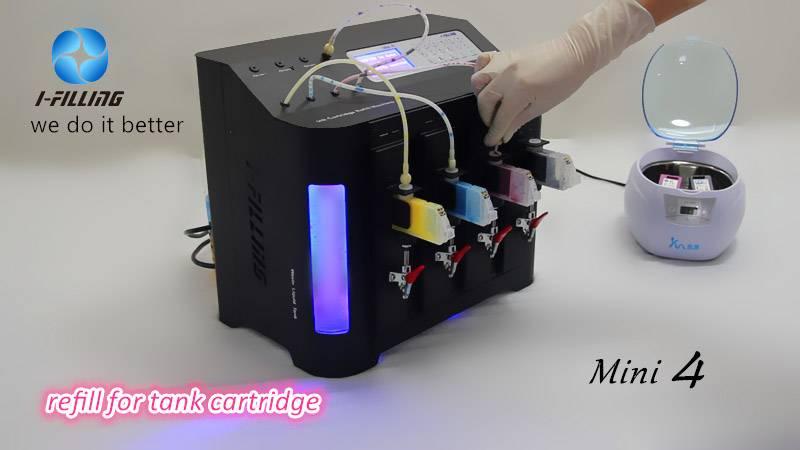 inkjet cartridge refilling equipment