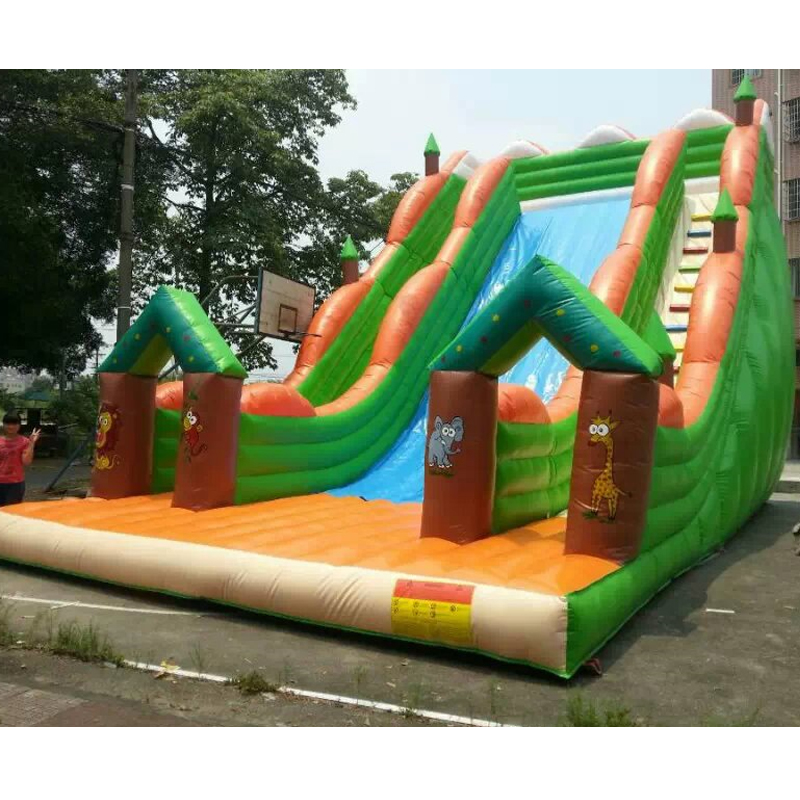 inflatable animal slide inflatable slide with step