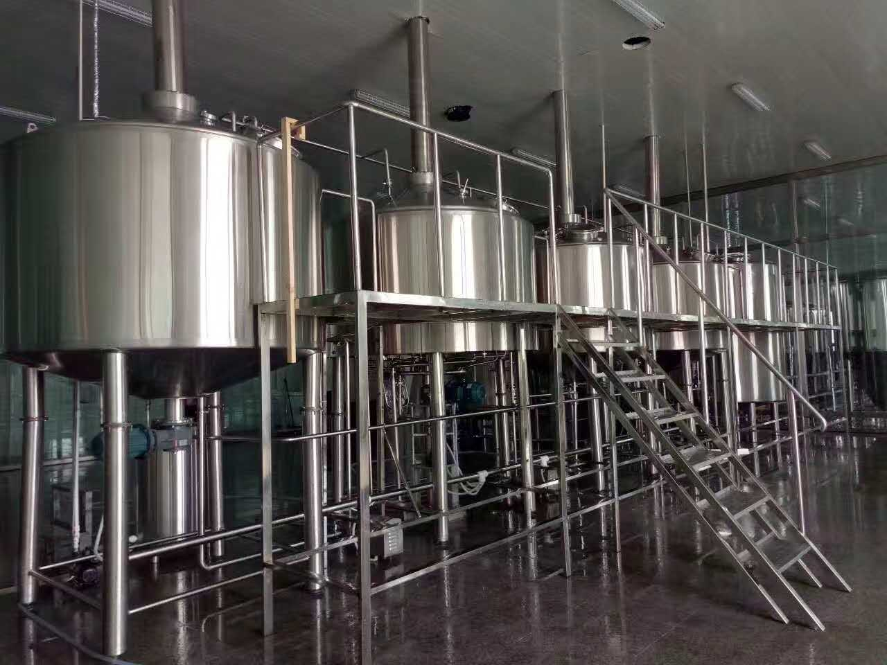 7BBL beer making equipment for beer plant