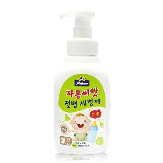 Mybee grapefruit seed baby bottle & dishwashing foam