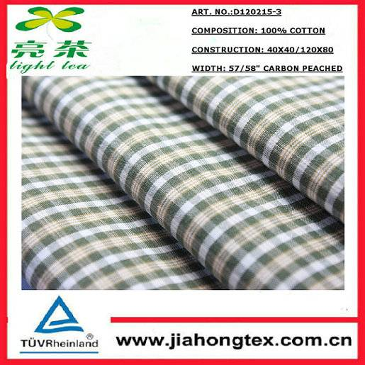 100 cotton fabric cheap for dress shirt