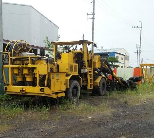 Used hydraulic crawler drill ATLAS COPCO BOOMER 353