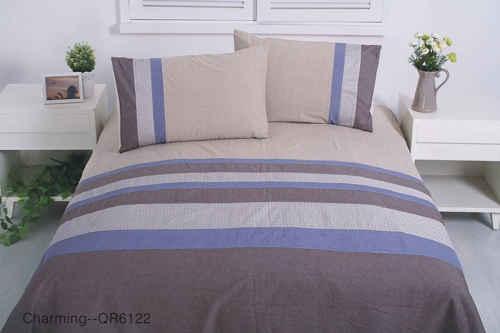 Embroidery drawnwork Bedding Set and Bed Sheet Set