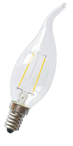 C35T 2W Dimmable Led Filament Candle Light