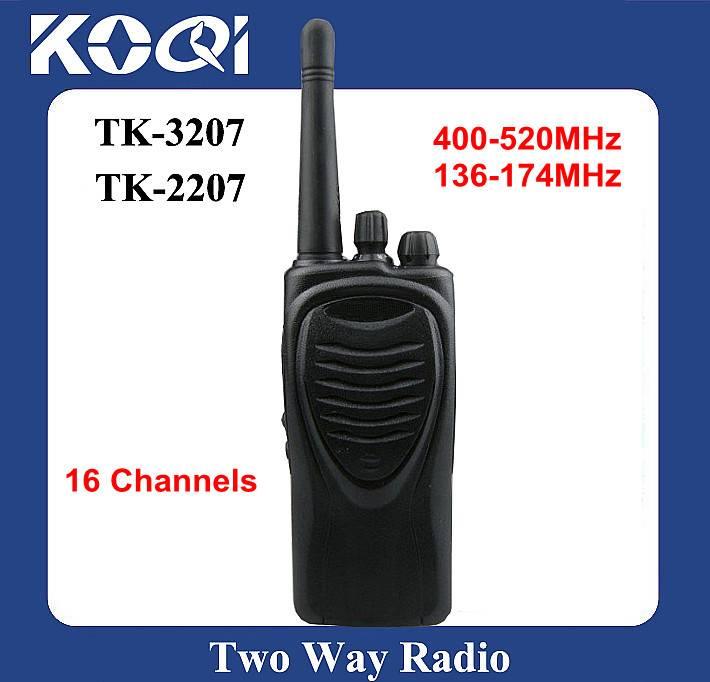 Walkie Talkie TK-3207 16 Channels and Wholesale UHF 2 Way Radio