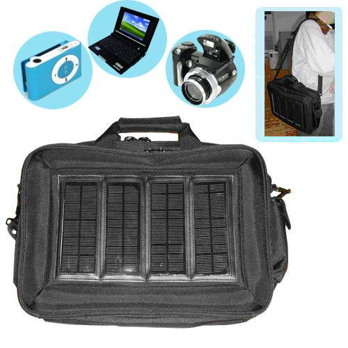 Mobile Phone / MP3 / MP4 / PDA / iphone Solar Charger Bag