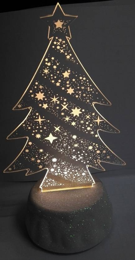 3D Christmas Top Table Light