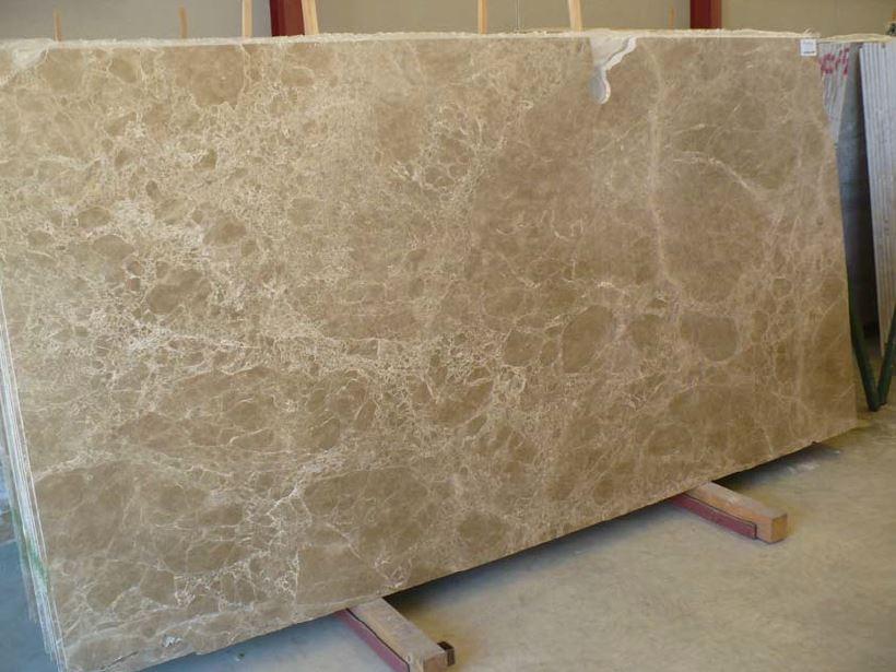 Light Emperador marble slabs