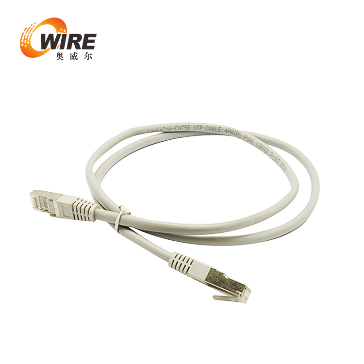 10ft Cat5e UTP Patch Cable, 350 Mhz 24AWG Gray