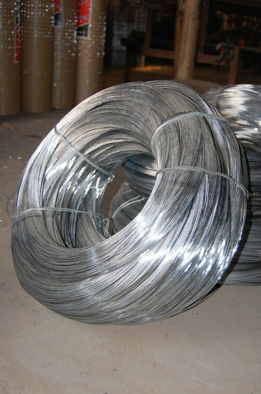 Electro galvanized redraw wire