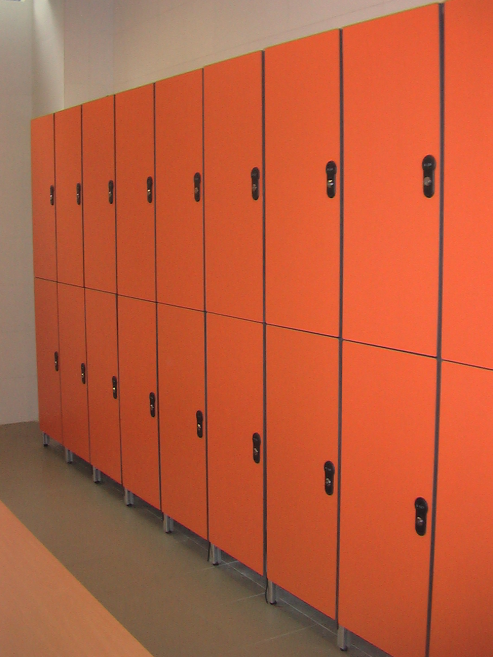 Rich-lees Keyless locks hpl compact golf lockers