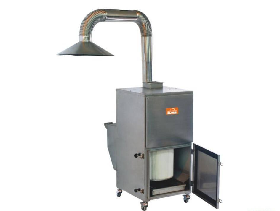 welding fume extractor type mobile dust collector