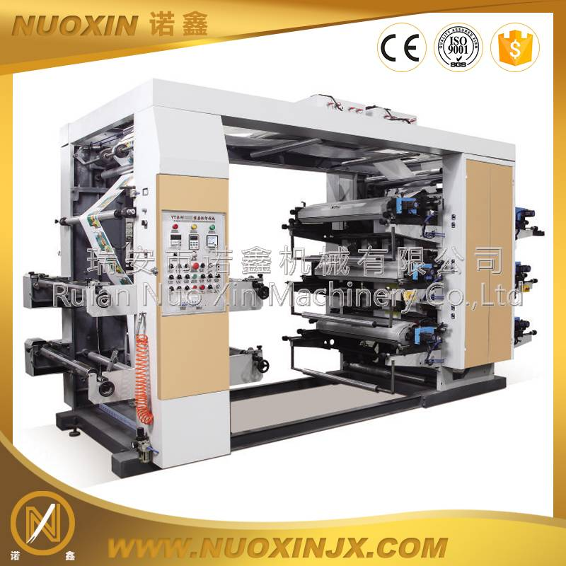 NX-6800 6 Color High Speed Flexographic Printing Machine