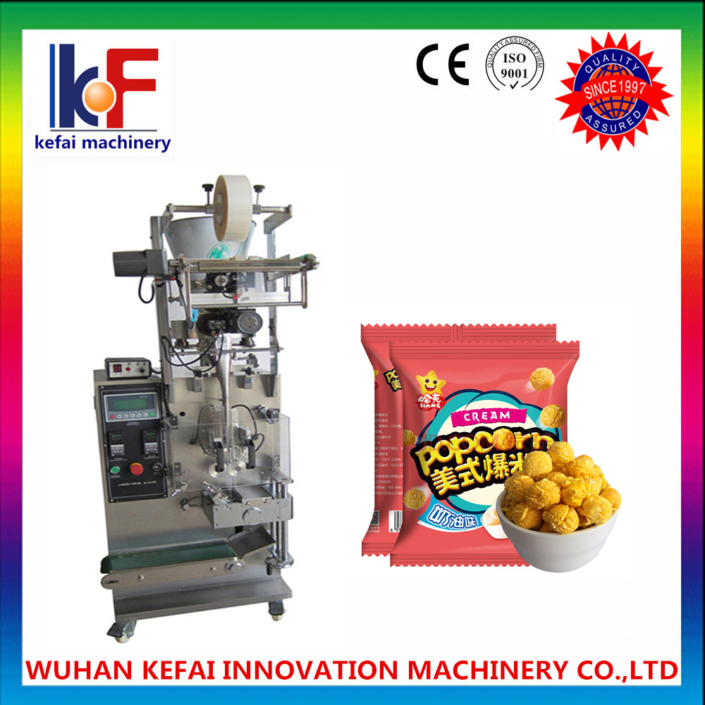 VFFS granules of desiccant sachet pouch vertical form fill seal machine