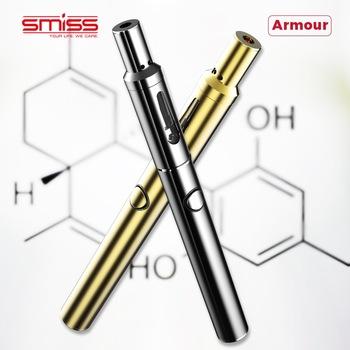 2018 Smiss Newest CBD Vape Pen 510 Thread Cartridge With Top Adjustable Airflow
