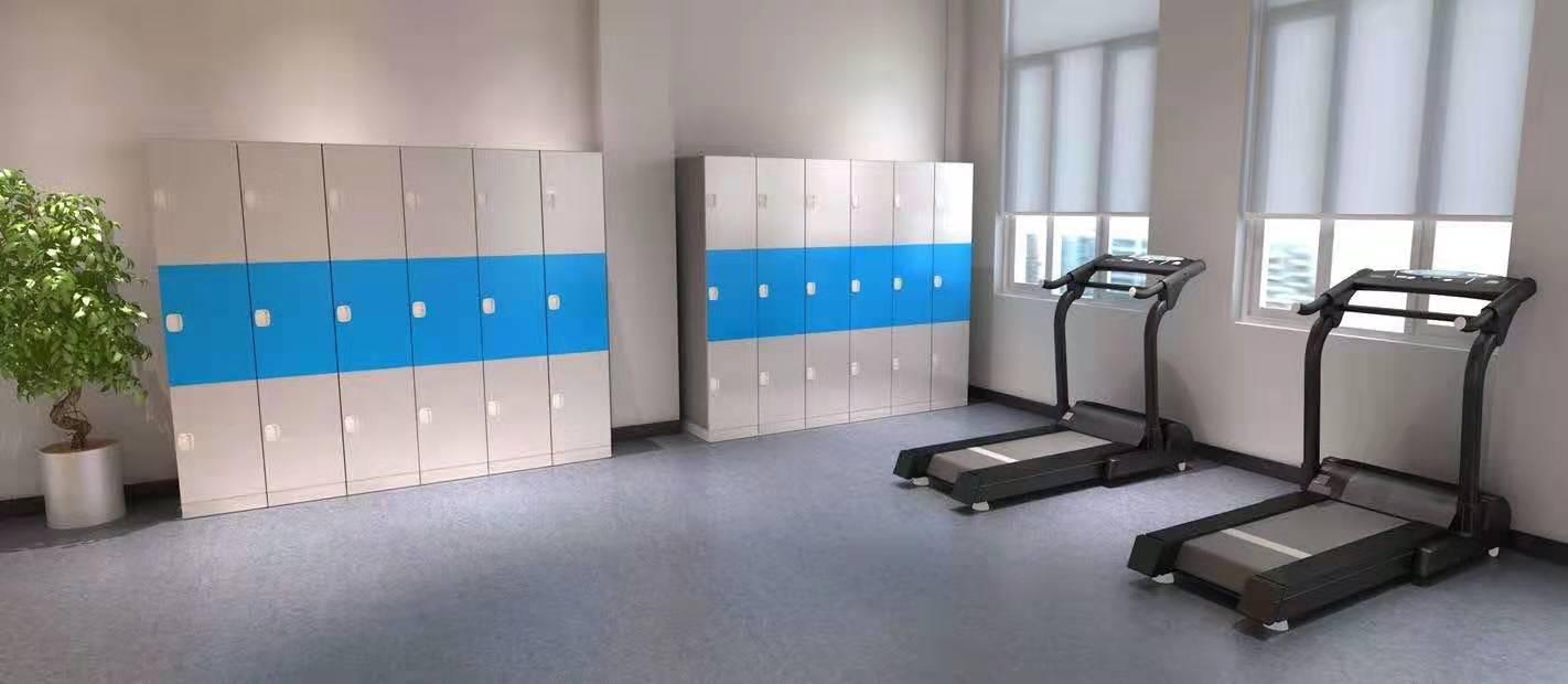 gym plastic ABS locker